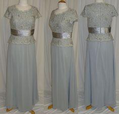 Mother's Of Bird/Groom Long Dress Gown Formal Evening Lace/Chiffon M~5XL      #Designer #Maxi #Formal
