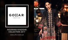 GOHAR NOURHAN Khaddar Collection 2017 GOHAR Textile Nourhan Khaddar Collection 2017 Is Now Available on Affordable.pk