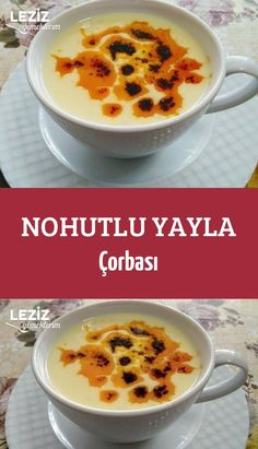 Chickpea Yayla Soup – My Delicious Food Soup Recipes, Dessert Recipes, Desserts, 21 Day Fix, Best Cheeseburger Recipe, Chickpea Soup, Good Food, Yummy Food, Turkish Recipes