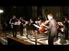 J.S. Bach Concerto for 2 Violins - Archi di Roma, David Romano and Federico M. Benigni - First movement  Recorded live in San Giovanni dei Fiorentini, in 2011.