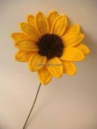 ผลการค้นหารูปภาพสำหรับ crochet gerbera flower pattern
