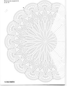 crochet doily by Esther67