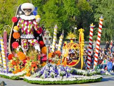 City of Cerritos Float in the Tournament of Roses