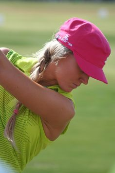 LPGA golfer Blair O'Neal, yay girls golf