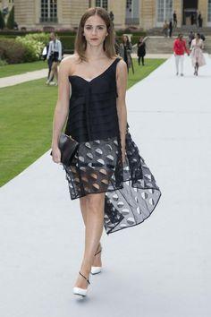 Emma Watson at  Christian Dior Fashion Show Haute Couture Fall/Winter 2014-2015 (7.07.2014, Paris, France).