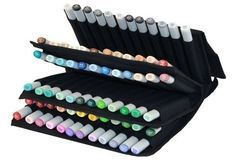 Copic Markers 72 Piece Empty Wallet Case by Copic Marker - Shop Online for Toys in Australia
