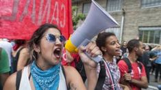 Intolerance threat to university free speech -  'Intolerance' threat to university free speech                   By Sean Coughlan         BBC News education and family correspondent                                                                                                     27 March 2018                                    Image copyright                  Getty ImagesImage caption                                      The right to protest and free speech needs to be protected says a…