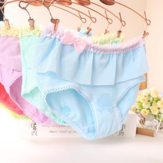 7ccafe577 Aliexpress.com   Buy New hot solid sexy lace bow womens cotton briefs  underwear seamless ladies underpants women panties for girls lady female  from Reliable ...