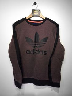 Adidas Sweatshirt Size Medium £32  Website➡️ www.retroreflex.uk  #adidas #trefoil #vintage #oldschool #retro #truevintage