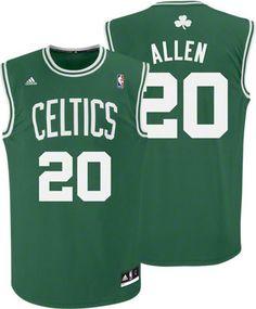 6098db6f1d7 Boston Celtics Ray Allen 20 Green Authentic Jersey Sale Celtics Apparel, Celtics  Gear, Love
