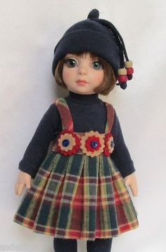 """OOAK Patsy's Off to School in Style for 10"""" Ann Estelle etc Made by Ssdesigns 