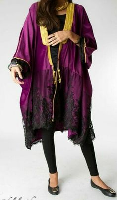 Dalal Maizi #abaya #caftan #kaftan #bisht #islamicdress #arab For more abaya & caftan inspiration please visit my page: www.pinterest.com/santanadxb/abayas-bishts-kaftans-jalabiyas/
