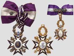 Order of Maria-Louisa (Spain) - Three crosses (reverse)