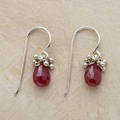 Bob About Ruby Earrings