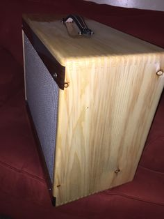Diy Guitar Amp, Storage Chest, Bass, Cabinets, Tube, Furniture, Home Decor, Armoires, Decoration Home
