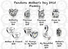 Pandora Mother's Day Collection 2015