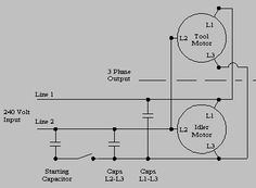 Build a Phase Converter to run your 3 phase motor on