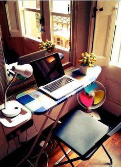 Graceful portable desk book stand to inspire you Ikea Furniture, Furniture Outlet, Discount Furniture, Diy Office Desk, Diy Computer Desk, Wood Ironing Boards, Portable Desk, Rustic Wine Racks, Cube Bookcase