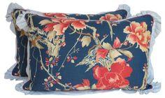 Print Pillows, Pair
