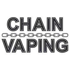 Chain Vaping T-Shirt  #maracoodesigns #tshirt #tee #vaping #vape #ecig #eliquid