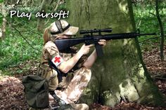 Play airsoft!