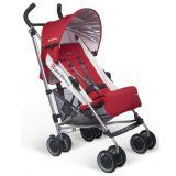 UPPAbaby G-Luxe 2014 Denny Red Think you need to be home during naptime? Introducing the G-LUXE -- a car stroller, nap stroller and umbrella Uppababy Stroller, Best Double Stroller, Best Baby Strollers, Best Umbrella, Umbrella Stroller, Stroller Fan, Seat Pads, Trends, Lush