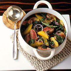 ESSEN & TRINKEN - Grünkohleintopf mit Orangen Rezept - Gesundes Gemüse: Kohl