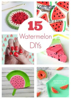15 Watermelon DIY Projects to Make, Great for a summer birthday!