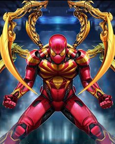 Iron Spider by Sadece Kaan on Artstation X Men Comics, Marvel Comics, Heros Comics, Bd Comics, Marvel Heroes, Marvel Avengers, Spiderman Art, Amazing Spiderman, Comic Book Characters