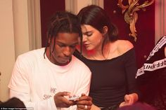 Getting close: Kendall Jenner's close bond with rapper A$AP Rocky which really set tongues wagging on Tuesday night as the rumoured couple cosied up at La Parisienne night at Heritage nightclub in the French capital
