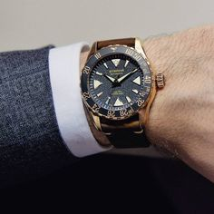 This one that was eagerly awaited by many wrists. The Eterna Kontiki Bronze.