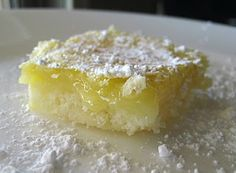 Gluten Free Lemon Bars and other yummy recipes on this blog!