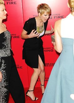 Jennifer Lawrence - I have mo idea what's going on in this picture, but...