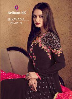 4989167d14 Get arihant nx rizwana vol 2 platinum rayon gowns. Arihant nx rizwana vol 2  platinum wholesale catalog dealer.