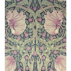 William Morris Pimpernel Wallpaper ($87) ❤ liked on Polyvore