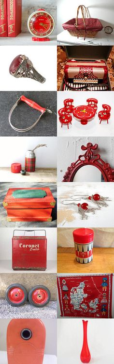 Vintage Red by Carla on Etsy--Pinned+with+TreasuryPin.com