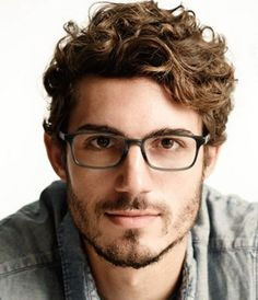 Hairstyle For Curly Hair Male Simple Modelo  Inside Men's Styles  Pinterest  Haircuts Hair Style And