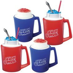 slush mugs.  stockings, cousins?