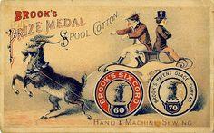 Brook's Prize Medal Spool Cotton