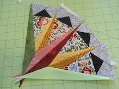 Yankee Quilter Designs: Mariner's Compass-advanced foundation piecing