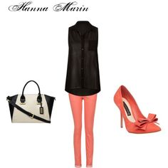 """Hanna Marin"" by rebecca-fitzpatrick on Polyvore"