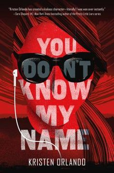 Swoon Reads has revealed the very Swanky cover for Kristen Orlando's young adult novel, YOU DON'T KNOW MY NAME, which will be published by on January To see the reveal, clic… Pretty Little Liars Series, The Boy Next Door, Mortal Combat, Black Angels, Ya Books, Story Books, My Name Is, Paperback Books, Bestselling Author
