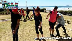 Carl Zeiss Tribal Survivor team building event in Cape Town, facilitated and coordinated by TBAE Team Building and Events Team Building Events, Zeiss, Cape Town, Teamwork