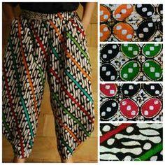 model batik kulot terbaru - Google Search Kebaya Lace, Batik Kebaya, Batik Dress, Kulot Batik, Batik Solo, Batik Fashion, Ethnic Fashion, Batik Couple, Skirt Pants