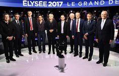 Le grand débat 2017 des onze candidats à l'élection présidentielle !! Vous en pensez quoi ?