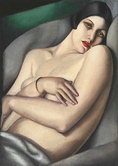 Tamara de Lempicka - Le Reve (Rafaela sur Fond Vert) 1927