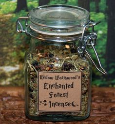 Incense - Enchanted Forest Magic Pagan Incense Fairy Magic Attract Faeries Wicca Wiccan Incense Ritual