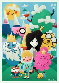 Adventure Time! - Print out and frame for Kenyon's room??