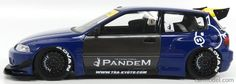 IGNITION-MODEL IG1051 Scale 1/18 HONDA CIVIC EG6 PANDEMTUNED VERSION 1991 BLUE YELLOW Ignition Model, Civic Eg, Honda Civic Hatchback, Scale Models, Cars And Motorcycles, Blue Yellow, Cool Cars, Diecast, Dream Cars