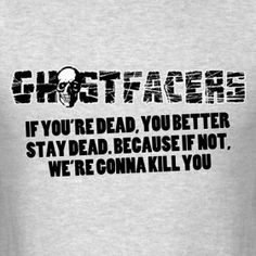 Ghostfacers! Ah! Supernatural love!